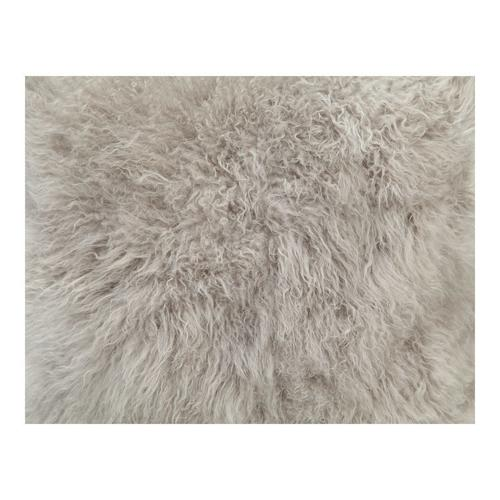 Moe's Home Collection - Cashmere Fur Pillow Light Grey
