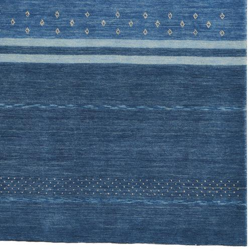 Simply Gabbeh Taos Blue Hand Loomed Area Rugs
