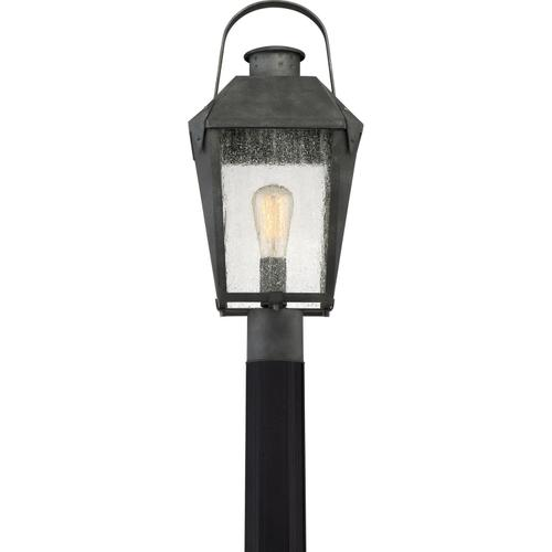 Quoizel - Carriage Outdoor Lantern in Mottled Black