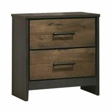ACME Sheldon Nightstand - 26203 - Oak & Gray