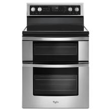 See Details - Whirlpool® 6.7 Cu. Ft. Electric Double Oven Range with True Convection