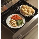 "GE Profile 30"" Smart Dual-Fuel Free-Standing Convection Range with Warming Drawer"