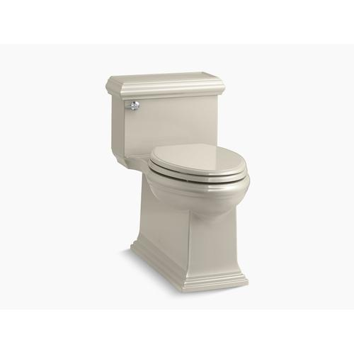 Sandbar One-piece Compact Elongated 1.28 Gpf Chair Height Toilet With Slow Close Seat
