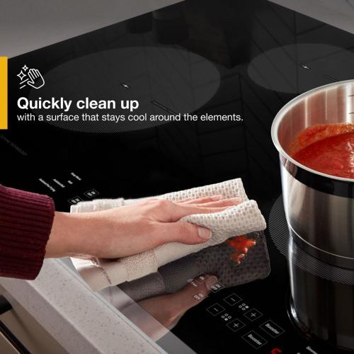 Whirlpool - 30-Inch Induction Cooktop