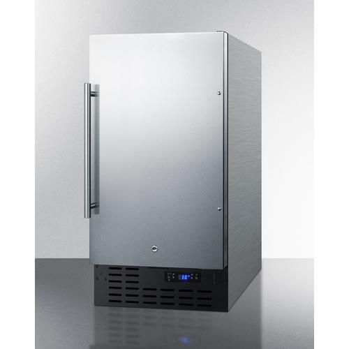 "Summit - 18"" Wide Built-in All-refrigerator, ADA Compliant"