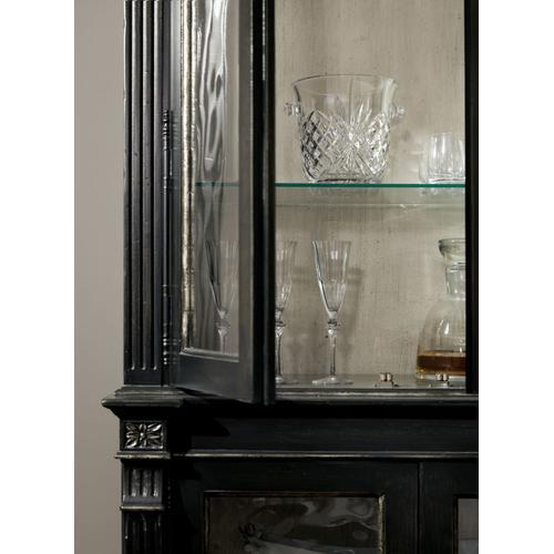 Dining Room Sanctuary Display Cabinet Noir