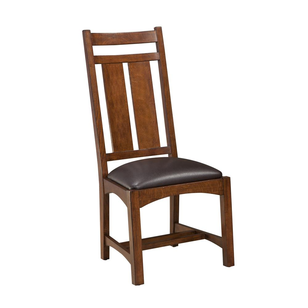 Oak Park Wide Slat Side Chair