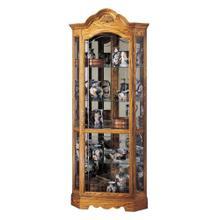 See Details - Howard Miller Wilshire Curio Cabinet 680207