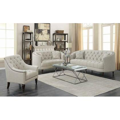 See Details - Avonlea Traditional Beige Sofa