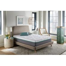 "Renue 12"" Medium Firm Hybrid Mattress in Box, Queen"