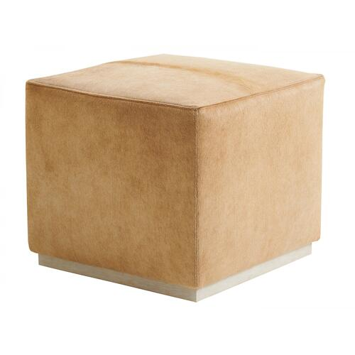 Colby Leather Ottoman