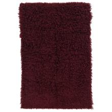 New Flokati Burgundy 3ft6inx5ft