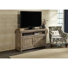 See Details - 54 Inch Console - Weathered Gray Finish