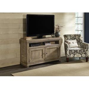 54 Inch Console - Weathered Gray Finish