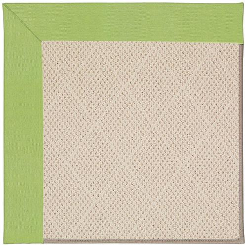 Creative Concepts-White Wicker Canvas Parrot Machine Tufted Rugs