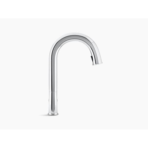 Vibrant Ombr Titanium/rose Gold Kitchen Faucet With Kohler Konnect and Voice-activated Technology