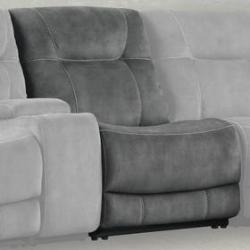 COOPER - SHADOW GREY Manual Armless Recliner