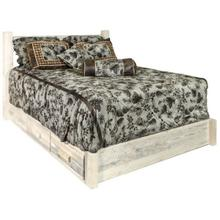 Homestead Collection Platform Beds with Storage