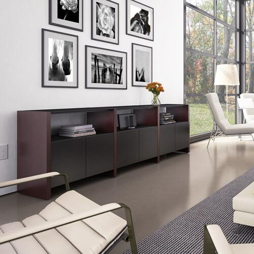 BDI Furniture - Semblance ® 5453-EG in Natural Walnut Black