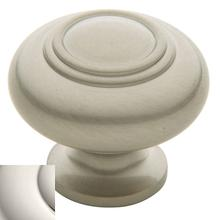 Polished Nickel Ring Deco Knob