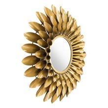 See Details - Sunflower Round Mirror Gold