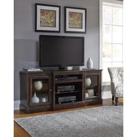 See Details - 74 Inch Console - Tobacco Finish
