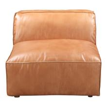 See Details - Luxe Slipper Chair Tan