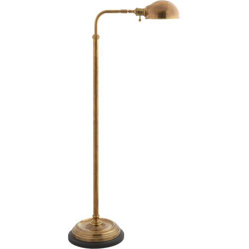 Visual Comfort - E. F. Chapman Apothecary 40 inch 60.00 watt Antique-Burnished Brass Task Floor Lamp Portable Light