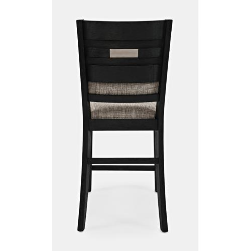 Altamonte Upholstered Counter Stool - Dark Charcoal