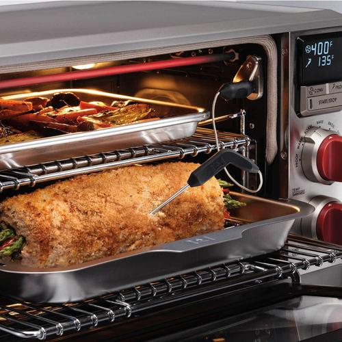 Elite Countertop Oven with Convection Red Knob