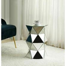 ACME Meria Pedestal, Mirrored - 97942