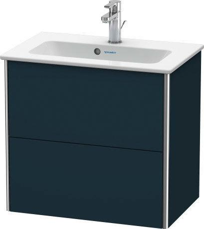 Duravit - Vanity Unit Wall-mounted Compact, Night Blue Satin Matte (lacquer)