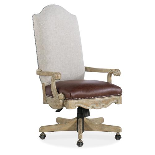 Hooker Furniture - Castella Tilt Swivel Chair