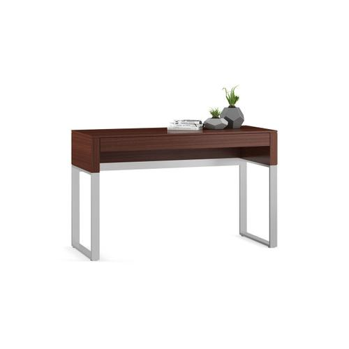 Console Laptop Desk 6202 in Chocolate Stained Walnut