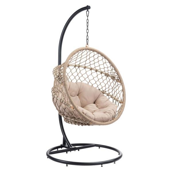 See Details - Las Palmas Hanging Chair Natural