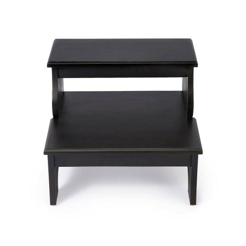This artisan-crafted step stool was designed to provide that extra step-up. Equally well-suited for use beside the bed, in the den or kitchen, it may be used wherever a little extra reach is needed. Finished in Brushed Sable.