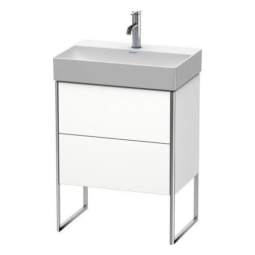 Vanity Unit Floorstanding Compact, White Matte