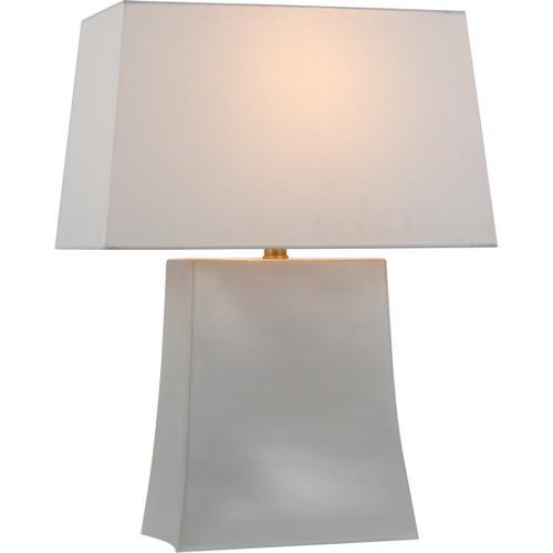 Visual Comfort - Chapman & Myers Lucera 26 inch 15.00 watt Ivory Table Lamp Portable Light, Medium