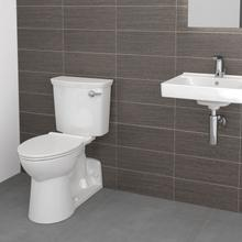 View Product - Yorkville VorMax Right Height Elongated Toilet with right hand side trip lever - White