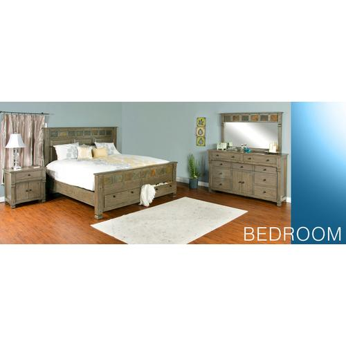 Scottsdale California King Bed w/ Storage
