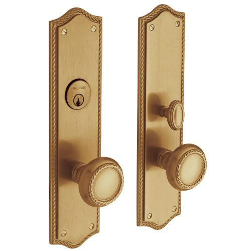 Vintage Brass Barclay Entrance Trim