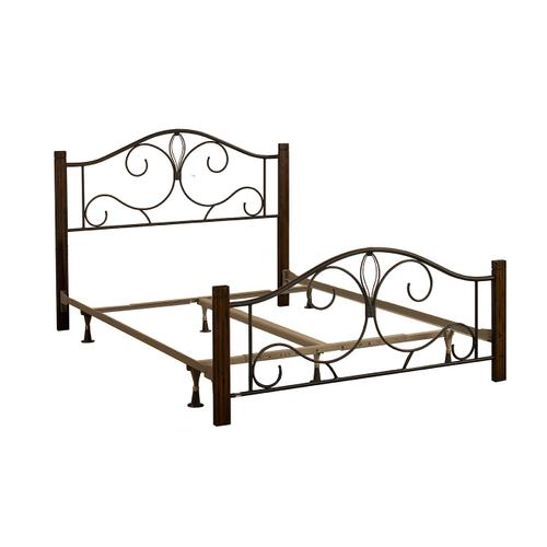 Destin Twin Bed With Frame - Brushed Cherry