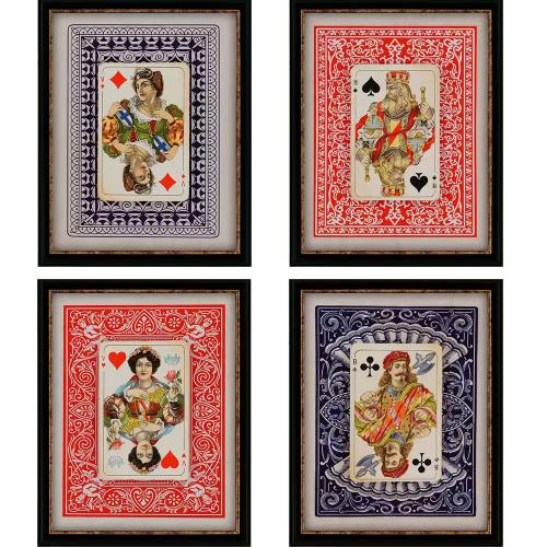 Playing Cards S/4