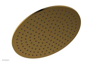 "12"" Round Shower Head 3-338 - French Brass Product Image"