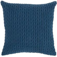 "Life Styles Et299 Blue 18"" X 18"" Throw Pillow"