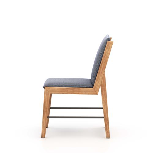 Faye Navy Cover Garson Outdoor Dining Chair