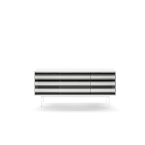 BDI Furniture - Align 7477 Media + Storage Console in Satin White Console Base