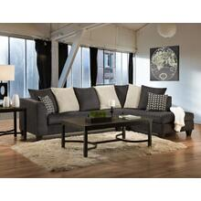 4184 LAF Sofa in Osaka Charcoal (MFG#: 4184-13S)