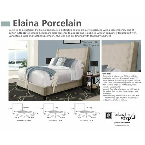 ELAINA - PORCELAIN California King Headboard 6/0