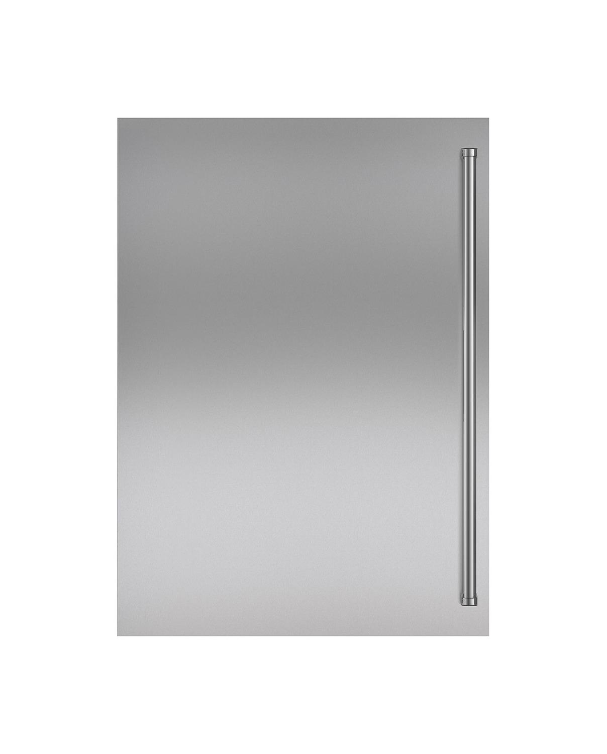 SubzeroStainless Steel Dual Flush Inset Door Panel With Pro Handle